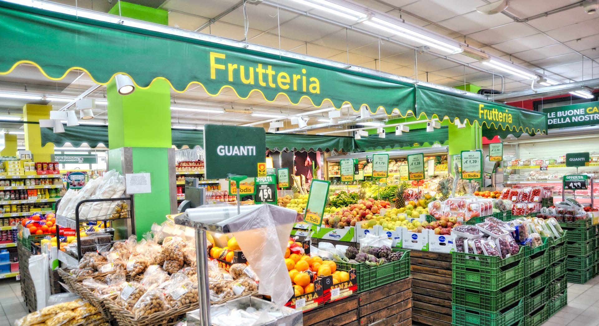 todis Alfonsine reparto frutteria renis group