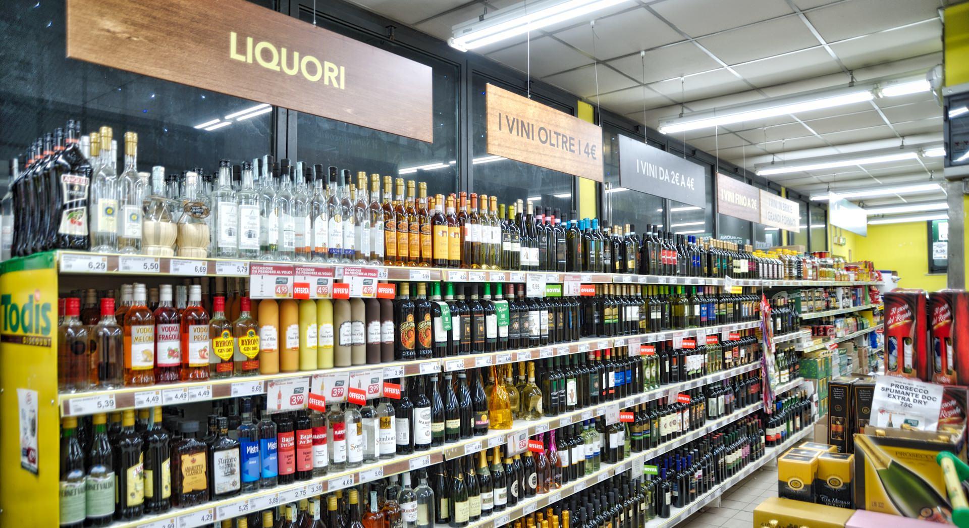 todis Alfonsine reparto liquori renis group