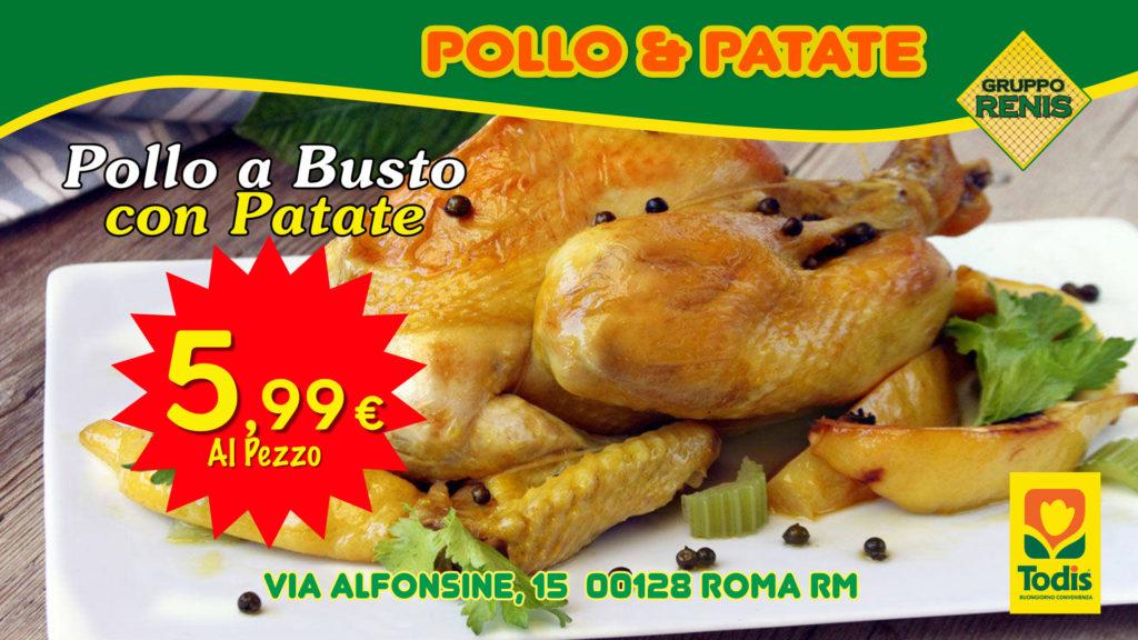 grupporenis Pollo & Patate 5,99€