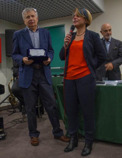 Michela Califano-Consiglio-Regione-Lazio-premia Giancarlo-Pontiggia-Premio-Opera-edita